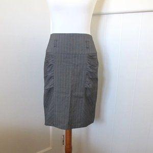 3/$25 Spacegirlz   Pinstripe Career Skirt